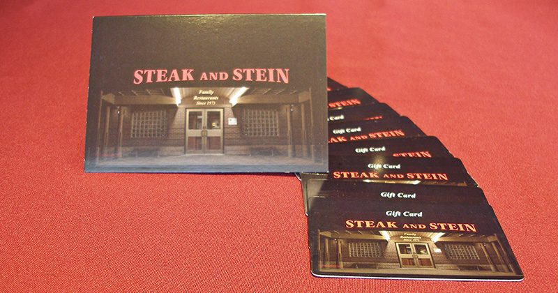 Steak and Stein Gift Cards