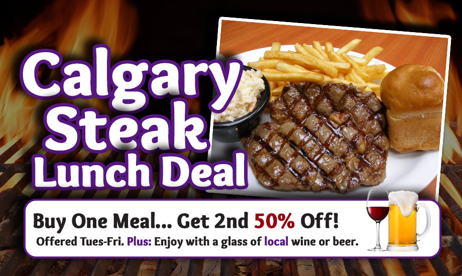 Calgary Steak Deal Steak And Stein