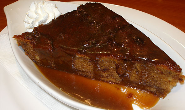 Steak And Stein Sticky Toffee Pudding