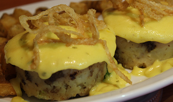 Steak and Stein Derby Steak Cake Benny